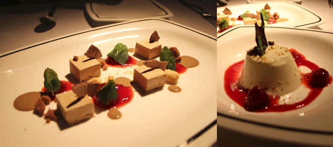 Semifreddo and Panna Cotta