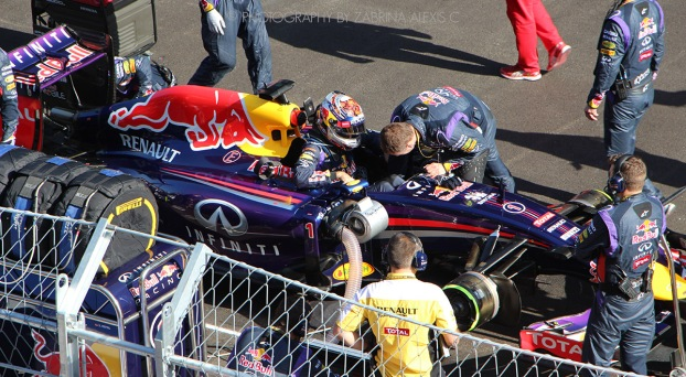 Sebastian Vettel F1 Sochi Russia