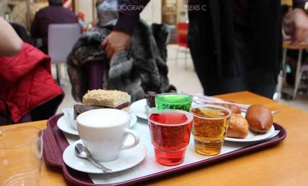 Russian sweets and drinks Moscow Russia