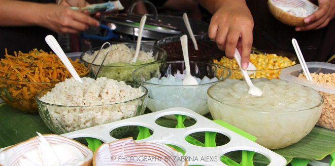 Coconut Ice-cream at Jaktujak Chatuchak weekend market