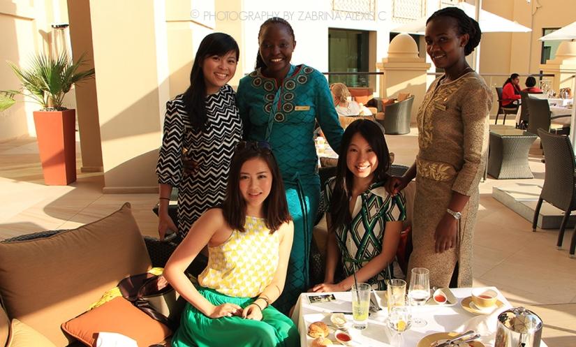Mashrabiya Lounge, Fairmont the Palm, Dubai,UAE
