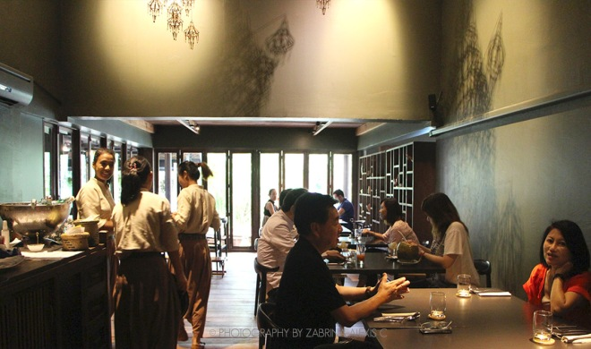 Fine dining at Bo.lan Asia's Top 50 Restaurants Bangkok Thailand