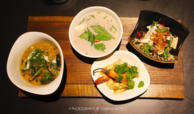 Prix Fixe lunch at Bo.lan Bangkok Thailand