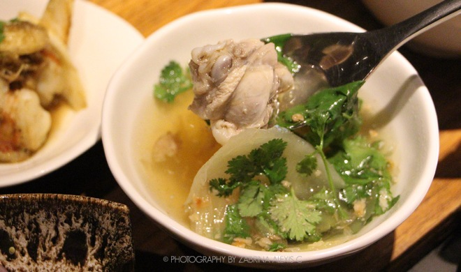Chicken Soup Bo.Lan Bangkok Thailand