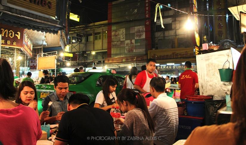 Yaowarat Road (ถนนเยาวราช), Bangkok,Thailand