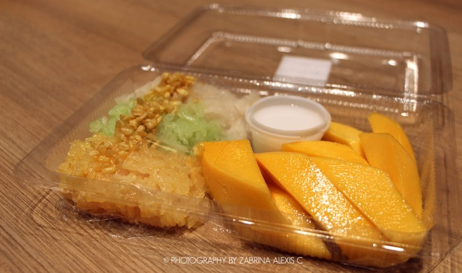 Mango Sticky Rice at Siam Paragon Bangkok Thailand