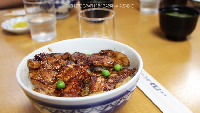 Pancho Buta-don Restaurant ぱんちょう豚丼, Obihiro, Hokkaido,Japan