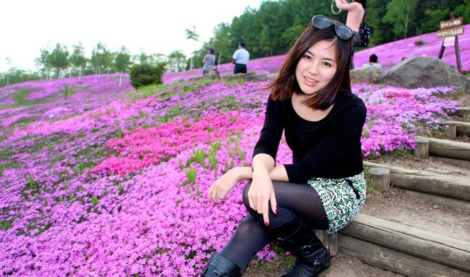 Takinoue Pink Moss Park Hokkaido Japan Travel Blog