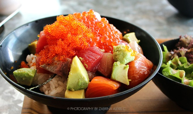 Sumiya Charcoal Grill Izakaya Singapore Food Review Blog Mix Bara Kaisen Don