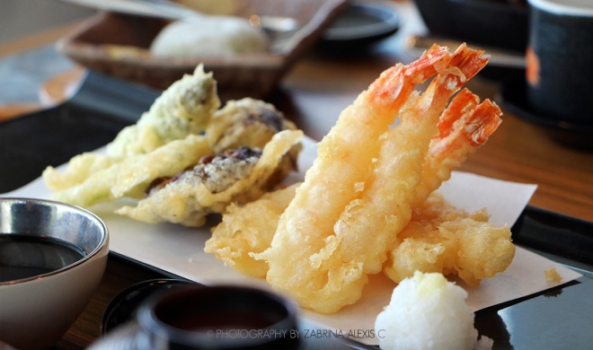 Assorted Tempura at Sumiya Charcoal Grill Izakaya Singapore Food Review Blog