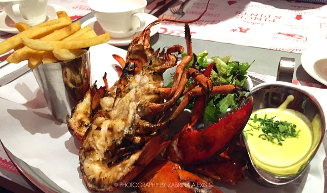 Pince & Pints Singapore Food Review Blog Grilled Lobster