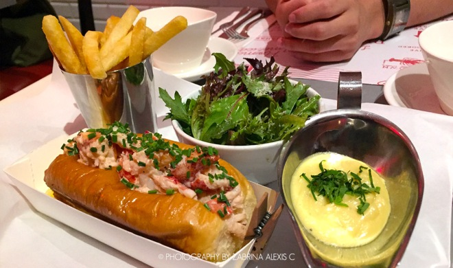 Pince & Pints Lobster Roll Food Review Singapore Food Blog