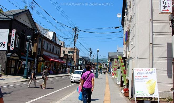 Otaru Hokkaido Japan Travel Diary Blog Canal Street