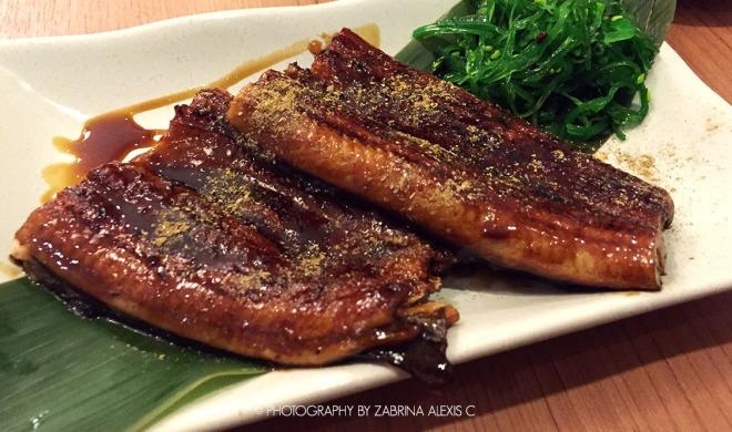 Manzuko Chikuwa tei Singapore Japanese Restaurant Food Review Blog Chirashi Best Sashimi Grilled Unagi