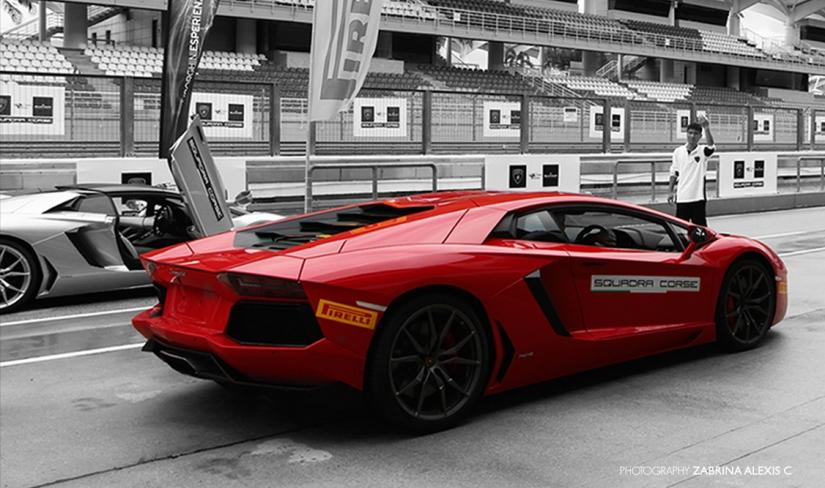 Photography: Launch of the LamborghiniHuracán
