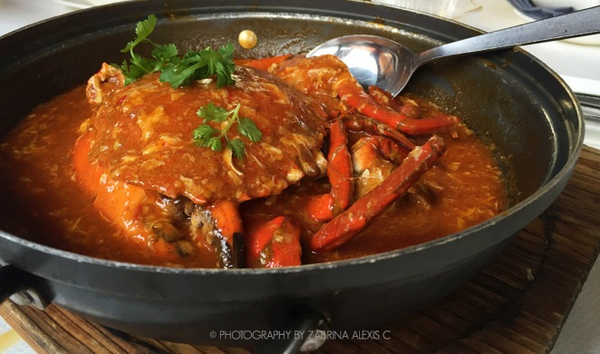 Jumbo Seafood Restaurant Singapore Chilli Crab Man Tou fried buns Food Review Blog