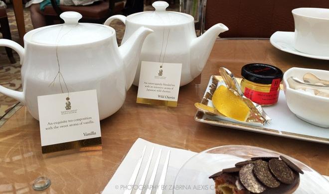 Chihuly Lounge The Ritz-Carlton Millenia Singapore Food Review Blog Afternoon High Tea Bernaudaud Tea