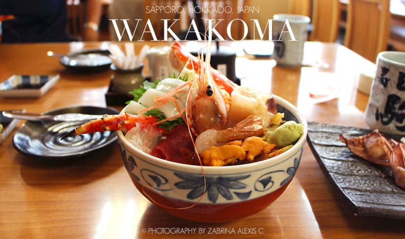 Wakakoma, Sapporo, Hokkaido,Japan