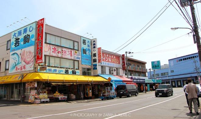 Wakakoma Restaurant Anthony Bourdain Food Review Blog Sapporo Hokkaido Japan Jyogai Market