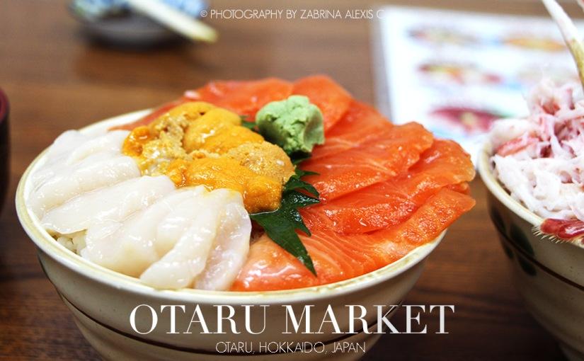 Otaru Market, Otaru, Hokkaido, Japan(Gallery)