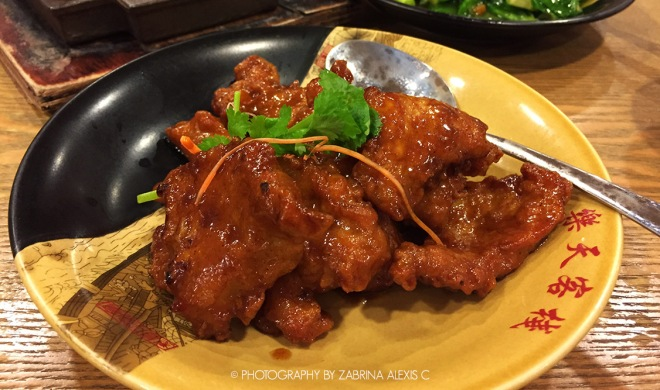Paradise Inn Singapore Food Review Blog Top Chinese Restaurant Imperial Pork Ribs Pai Gu Wang