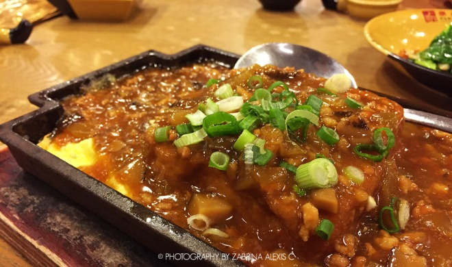 Paradise Inn Singapore Food Review Blog Top Chinese Restaurant Imperial Hot Plate Tofu Mapo Cai Xin Minced Pork