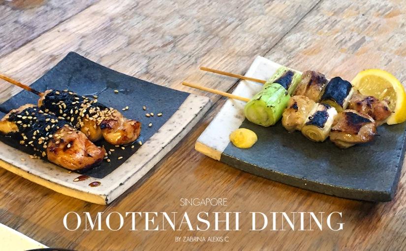 Omotenashi Sake Bar & Dining Gosso,Singapore