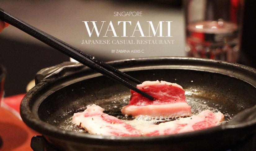 Watami Japanese Casual Restaurant, Singapore