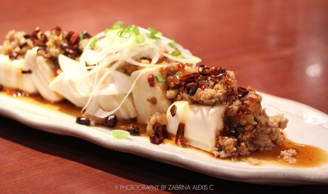 Watami Japanese Casual Restaurant Singapore Food Review Blog Cold Tofu Miso Minced Meat Spicy