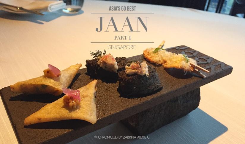 Asia's 50 Best: Jaan, Singapore (Part 1,Amuse-bouche)