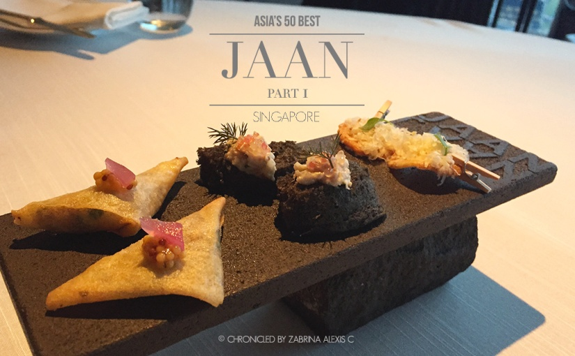 Asia's 50 Best: Jaan, Singapore (Part 1, Amuse-bouche)