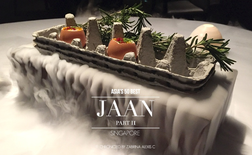 Asia's 50 Best: Jaan, Singapore (Part 2, Appetisers)