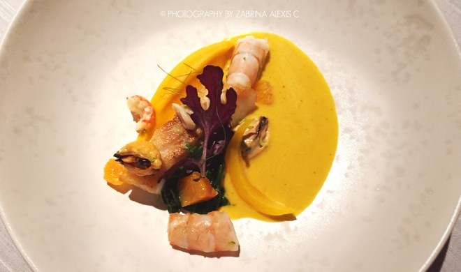 Asia's 50 Best Restaurants 2014 2015 Jaan Singapore Food Review Blog Crispy Skin Amadai