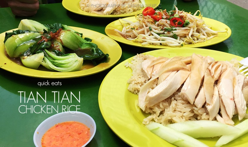 Tian Tian Chicken Rice,Singapore