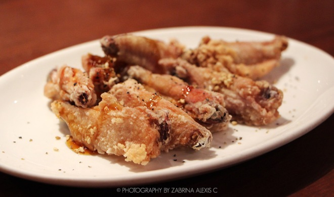 Watami Japanese Casual Restaurant Singapore Food Review Blog Crispy Chicken Wings