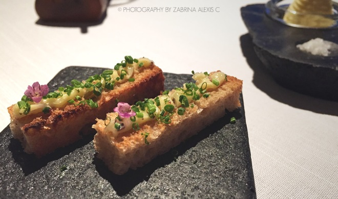 Asia's 50 Best Restaurants 2014 2015 Jaan Singapore Food Review Blog Crostini