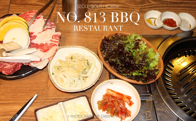 No. 813 BBQ Restaurant, Seoul, South Korea