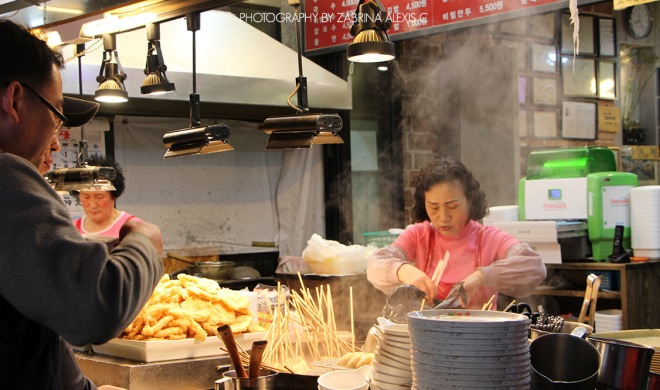 Korea Street Food Odeng Fish Cake
