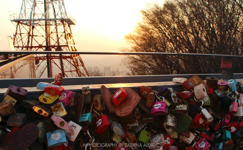 Poetry by Photography: Love Locked Lovers
